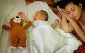 къде да спи бебето